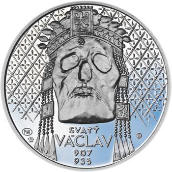 Relikvie Sv. Václava - vzor 2 - Ag malá Proof - 1