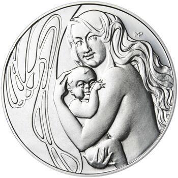 Mamince 50 mm stříbro b.k. - 1