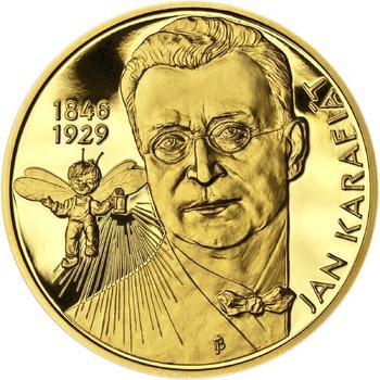 Jan Karafiát - Broučci - zlato 1/2 Oz proof - 1
