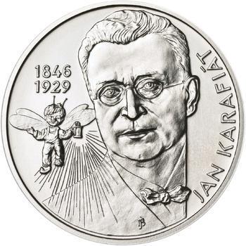 Jan Karafiát - Broučci - stříbro malá b.k. - 1