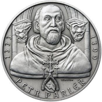 Petr Parléř - 1 Oz stříbro patina - 1