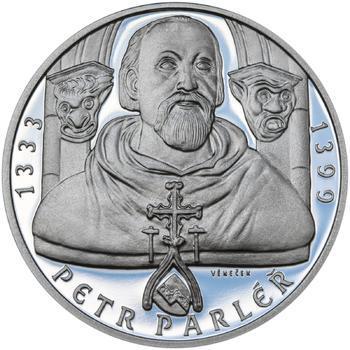Petr Parléř - 28 mm stříbro Proof - 1