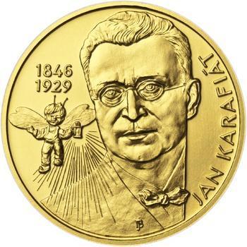 Jan Karafiát - Broučci - zlato 1/2 Oz b.k. - 1