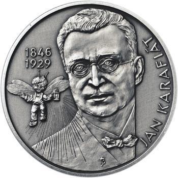 Jan Karafiát - Broučci - stříbro malá patina - 1
