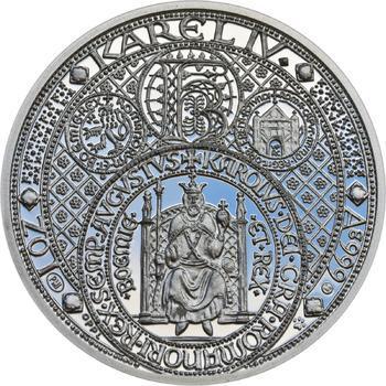 Nejkrásnější medailon III. - Císař a král Ag Proof - 1