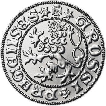 Pražský groš - 10 dukát Ag b.k. - 1