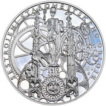 Proof - Pražské dukáty - 10 dukát - Staroměstský orloj Ag - 1