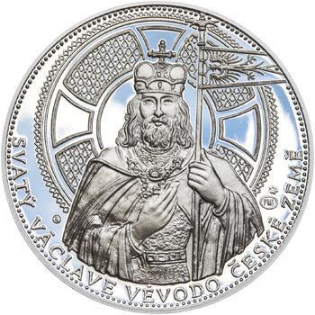 2015 - Proof - Svatováclavské dukáty - 10 dukát Ag - 1