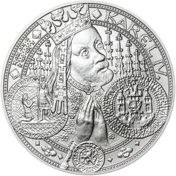 Nejkrásnější medailon I. Nové Město pražské - 50 mm Ag b.k. - 1