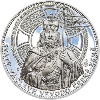 2015 - Proof - Svatováclavské dukáty - 5 dukát Ag - 1