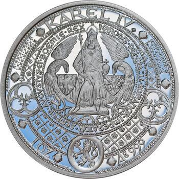 Nejkrásnější medailon II. - Královská pečeť Ag Proof - 1