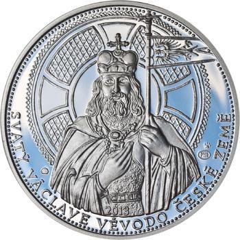 2013 - Proof - Svatováclavské dukáty - 10 dukát Ag - 1