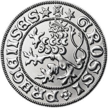 Pražský groš - 2 dukát Ag b.k. - 1