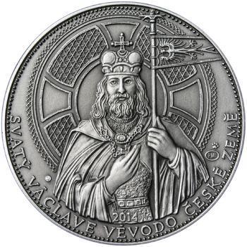 2014 - patina - Svatováclavské dukáty - 10 dukát Ag - 1