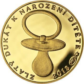 2013 - Dukát k narození dítěte, ročník 2013 - 1