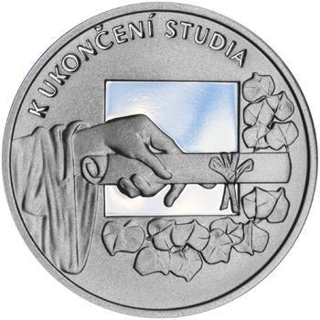 K ukončení studia 25 mm stříbro Proof - 1