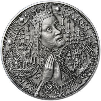 Nejkrásnější medailon - Nové Město pražské Patina - 1