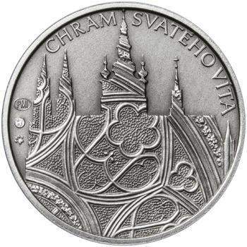 Patina - Pražské dukáty - 2 dukát - Chrám sv. Víta Ag - 1