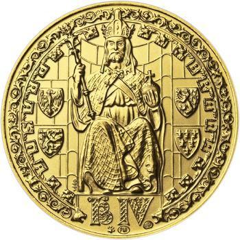 b.k. - Pražské dukáty - 5 dukát - Prašná brána Au - 1