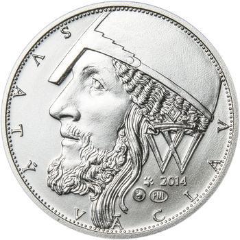 2014 - b.k. - Svatováclavské dukáty - 1 dukát Ag - 1