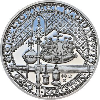 Nejkrásnější medailon IV. - Karlštejn Ag Proof - 1