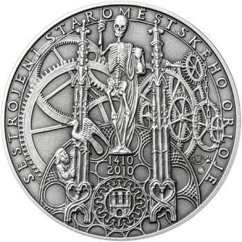 Patina - Pražské dukáty - 10 dukát - Staroměstský orloj Ag - 1