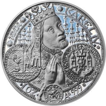 Nejkrásnější medailon - Nové Město pražské Proof - 1