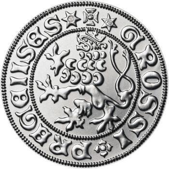 Pražský groš - 1 dukát Ag b.k. - 1