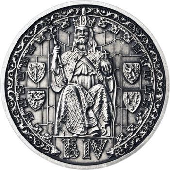 Patina - Pražské dukáty - 5 dukát - Prašná brána Ag - 1