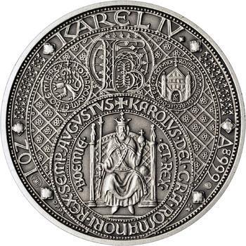 Nejkrásnější medailon III. - Císař a král Ag Patina - 1