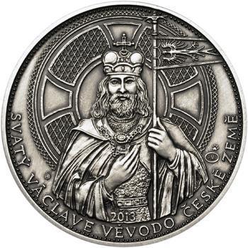 2013 - patina - Svatováclavské dukáty - 10 dukát Ag - 1