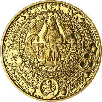 Nejkrásnější medailon II. - Královská pečeť zlato Proof - 1