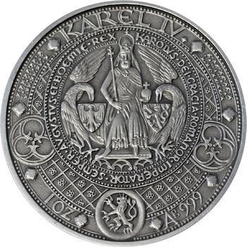 Nejkrásnější medailon II. - Královská pečeť Patina - 1
