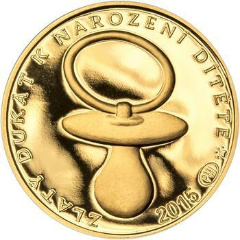 2015 - Dukát k narození dítěte, ročník 2015 - 1