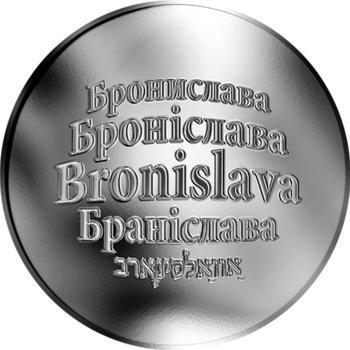 Česká jména - Bronislava - stříbrná medaile - 1