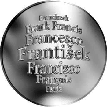 Česká jména - František - stříbrná medaile - 1