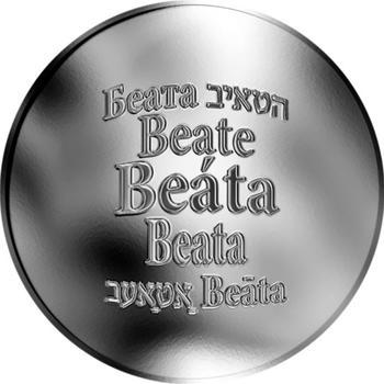 Česká jména - Beáta - stříbrná medaile - 1