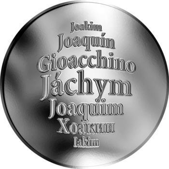 Česká jména - Jáchym - stříbrná medaile - 1