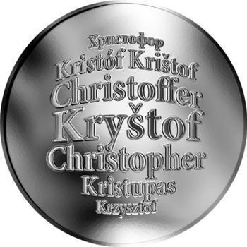 Česká jména - Kryštof - stříbrná medaile - 1