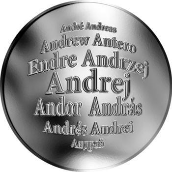 Česká jména - Andrej - stříbrná medaile - 1