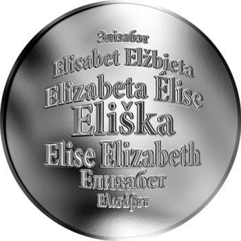 Česká jména - Eliška - stříbrná medaile - 1