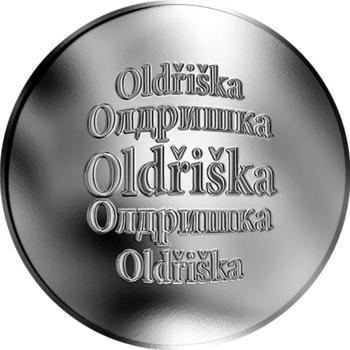 Česká jména - Oldřiška - stříbrná medaile - 1