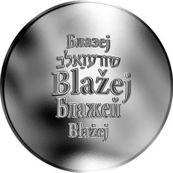 Česká jména - Blažej - stříbrná medaile - 1