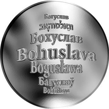 Česká jména - Bohuslava - stříbrná medaile - 1
