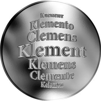 Česká jména - Klement - stříbrná medaile - 1