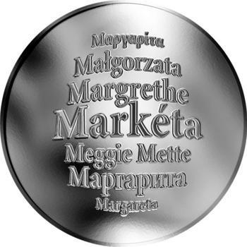 Česká jména - Markéta - stříbrná medaile - 1
