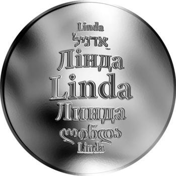 Česká jména - Linda - stříbrná medaile - 1