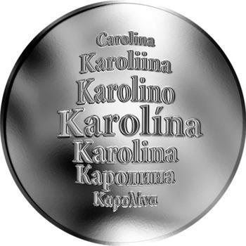 Česká jména - Karolína - stříbrná medaile - 1