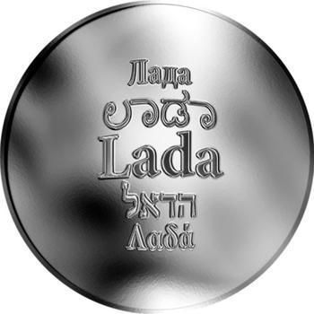 Česká jména - Lada - stříbrná medaile - 1