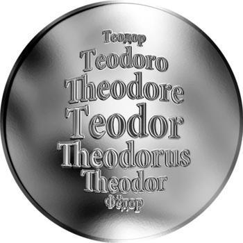 Česká jména - Teodor - stříbrná medaile - 1